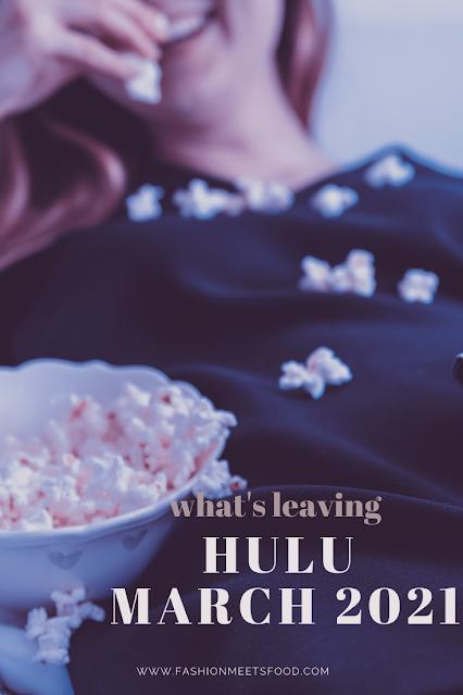 Leaving Hulu March 2021