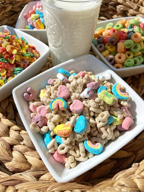 Cereal Charcuterie Board