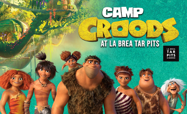 Camp Croods at La Brea Tar Pits Virtual Field Trip