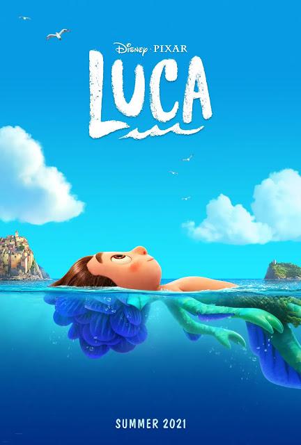 Disney and Pixar\'s Luca
