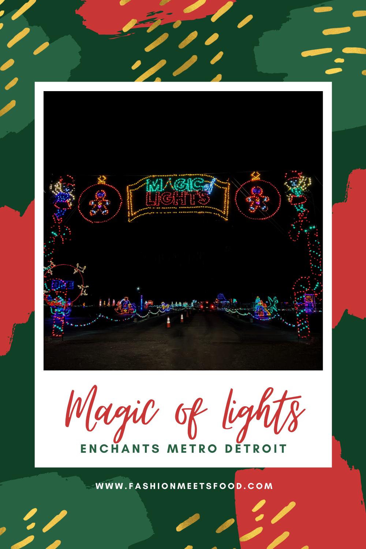 Restaurants Open On Christmas Day In Metro Detroit 2021 Magic Of Lights Enchants Metro Detroit Fashion Meets Food