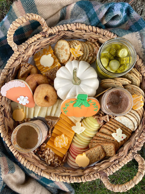 Autumn Snack Board