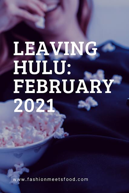 Leaving Hulu: February 2021